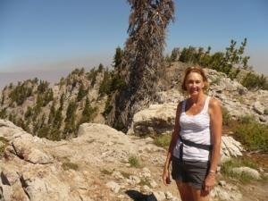 Jane at the peak