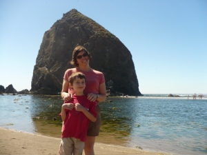 Jeannine and Ben at Cannon Beach